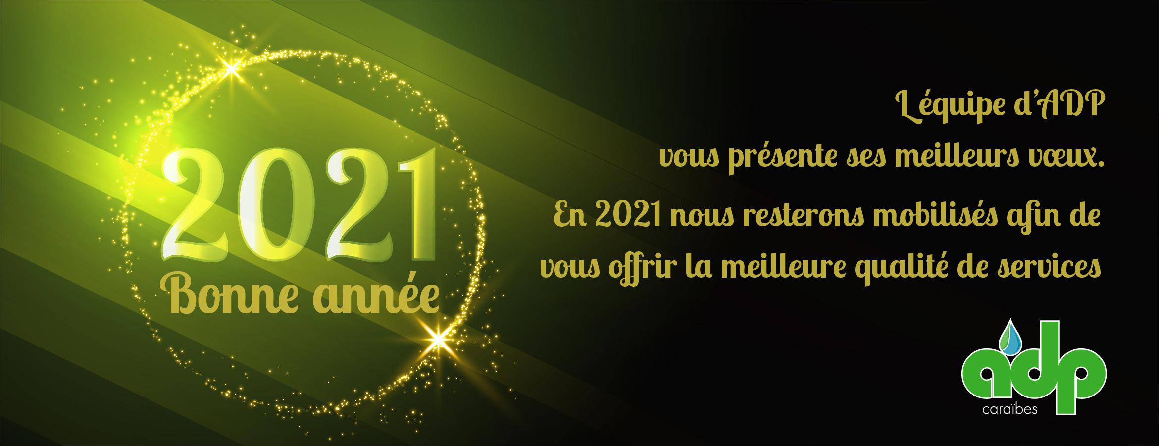 Voeux 2021 ADP Caraïbes Assainissement Martinique